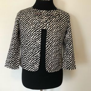 Black and White Kate Spade-esque Jacket